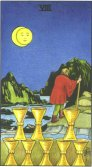 eight of cups tarot card - free online reading