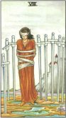 eight of swords tarot card - free online reading