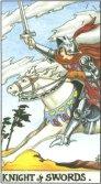 knight of swords tarot card - free online reading