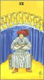 nine of cups tarot card - free online reading