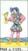 page of cups tarot card - free online reading