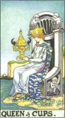 queen of cups tarot card - free online reading