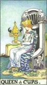 queen of cups tarot card - free online reading