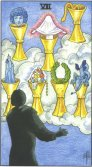 seven of cups tarot card - free online reading