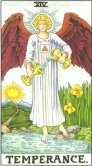 temperance tarot card - free online reading