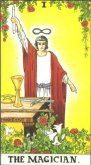 the magician tarot card - free online reading
